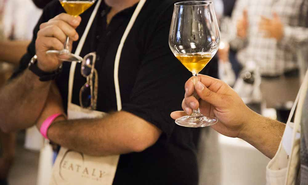 fish e wine evento eataly