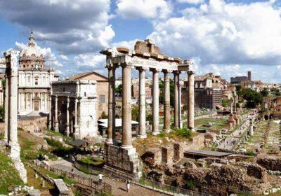 Veduta su Rione Campitelli a Roma