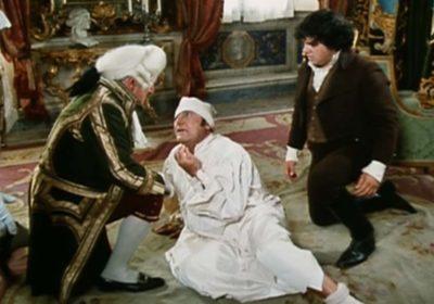 scena tratta da il marchese del grillo