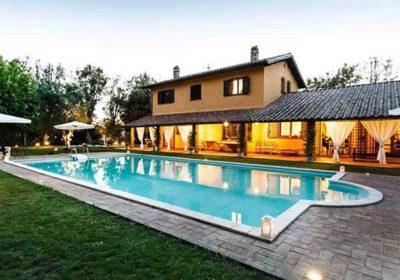 villa cicognani roma